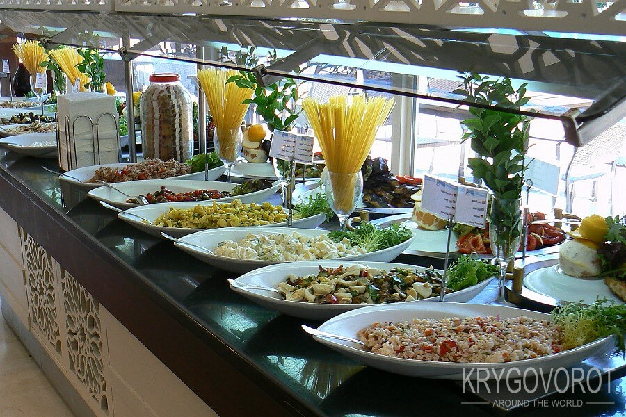Турецкая кухня в отеле