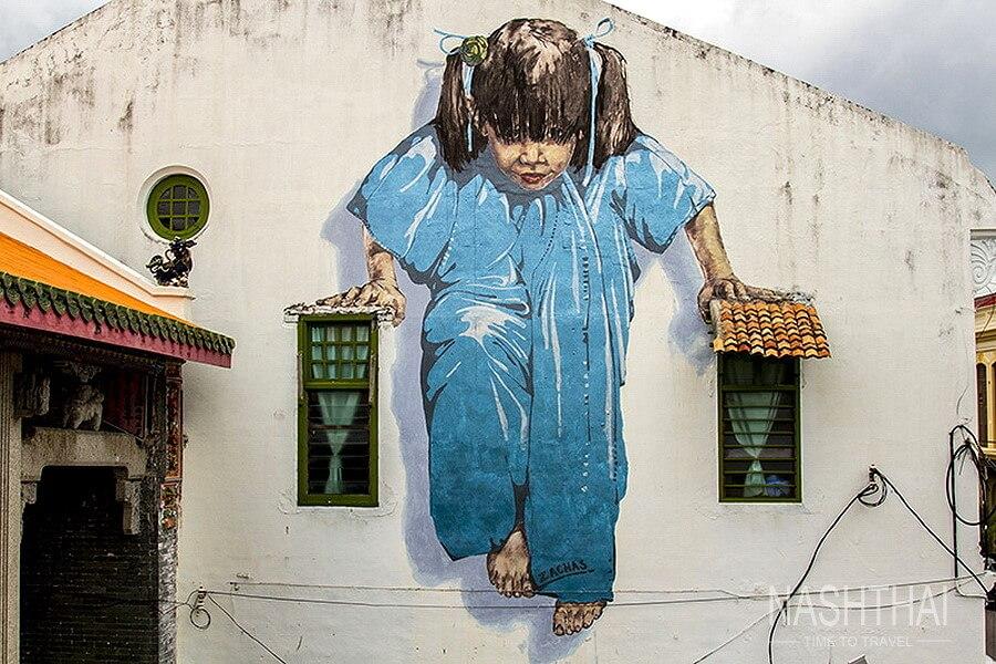Стрит-арт на Пенанге