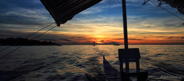 Закат на острове Бохол
