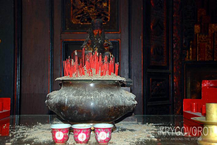 Место для свечей