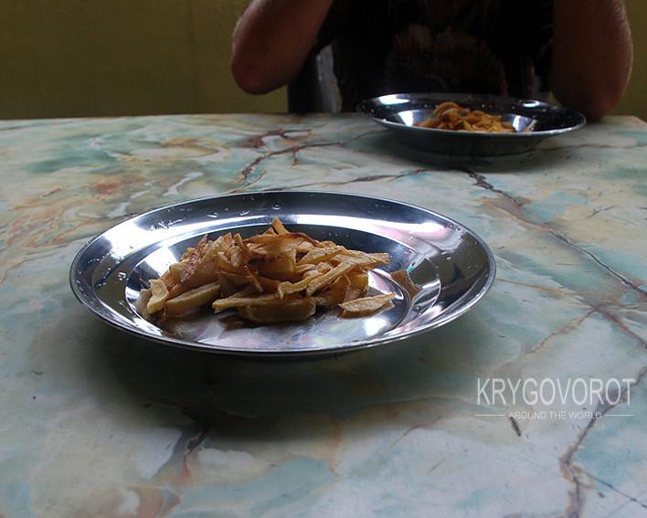Тарелка с завтраком